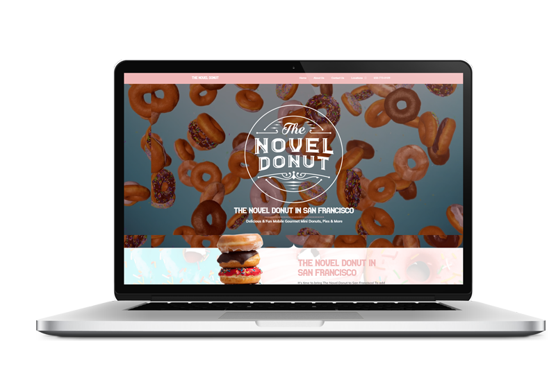 The Novel Donut Design by Live Web design in [location], [region]